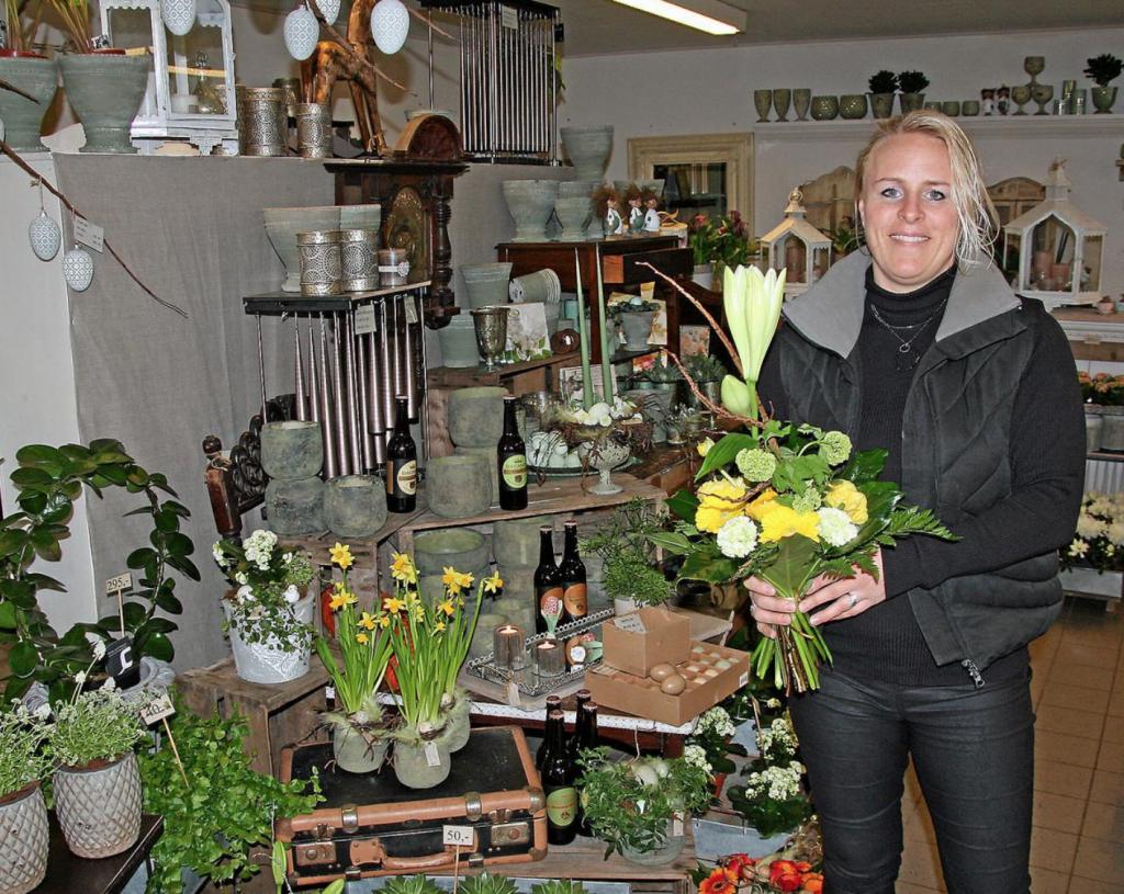 Blomster butik